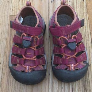 Keen kids washable footwear